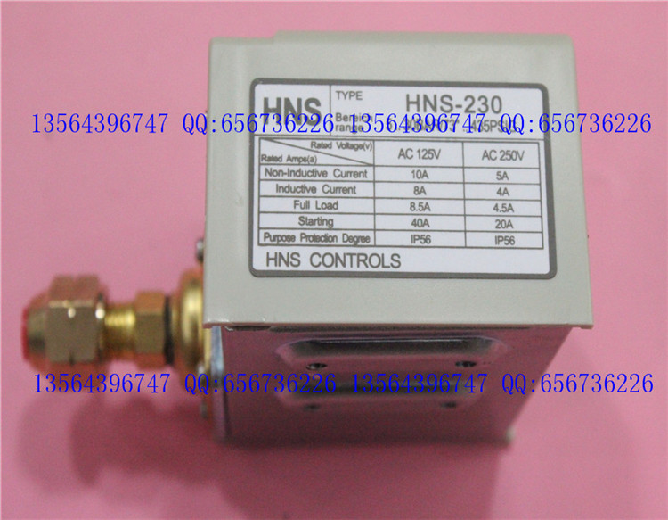 3s pressure switch single electro controller HNS-220<br>
