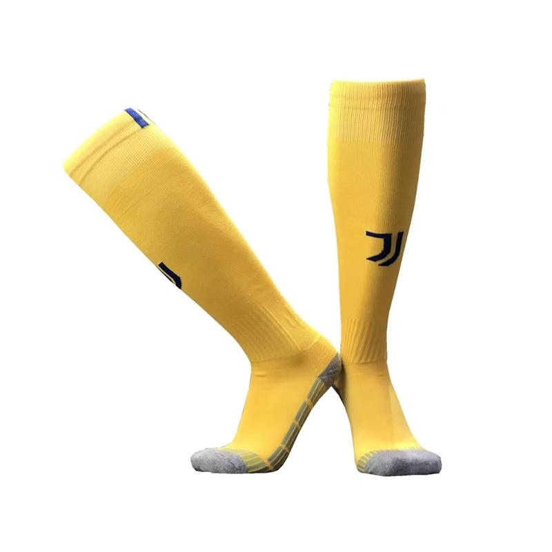NO Logo National Team Germany Football Barreled Knees Slip Bottom Thick Stocking Spain Soccer Socks Compression Socks 22