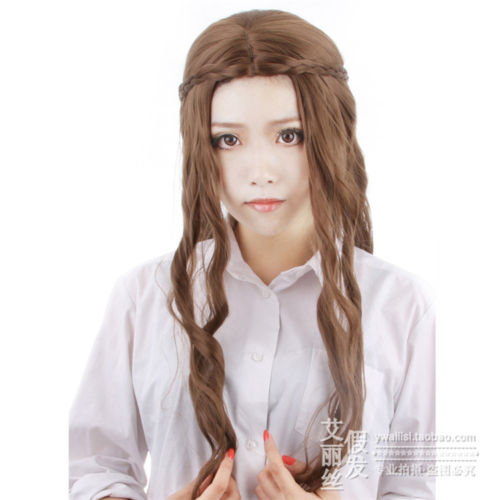 Anime Game of Thrones Margaery Tyrell Long Full Lace Cosplay Wig ( Only Wig ) Costume Heat Resistant +Free Cap +Track<br><br>Aliexpress