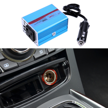 Newest Car Power Inverter DC 12V to AC 220V 150W Modified Sine Wave Power Inverter Battery Display Car Inverters High Quality