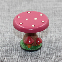 New Christmas Forest Mushroom Table Stool Resin Crafts Ornaments Scene Decoration Christmas Mushroom Table Home Decoration(China)