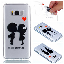 Meachy For Coque Samsung Galaxy S8/s8 plus Case Silicone POP Phone Cases For Samsung S8 Soft Cute Cartoon lover Back Cover G49