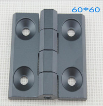 Black alloy Hinge / Cabinet Box Hinge / Industrial Hinge 60mm X 60mm 10PCS