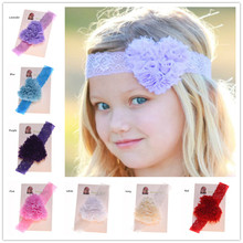 2PCS Heart Headband Newborn  Flower headband Wedding Hair Accessories Vingate Hairbows Headband Fashion Headwear