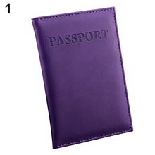 2016  Travel Passport ID Card Cover Holder Case Faux Leather Protector Skin Organizer 9IG7