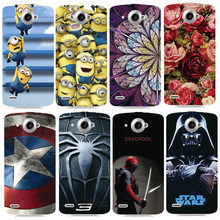 Beautiful Design Original Plastic Printed Cartoon Phone Case For Lenovo S920 Back Cover Printing Drawin Fashion Cell Phone Cases(China)