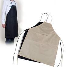 Drawing Aprons Fine Waterproof Canvas Apron Sleeveless 2 Colors Painting Clothes Adult Apron