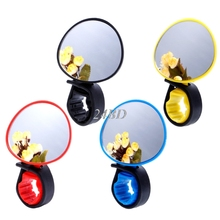Buy Universal 360 Degree Rotate Rearview Mirror Handlebar Glass Mirror Bicycle Cycling Bike Accessories O11 for $1.16 in AliExpress store
