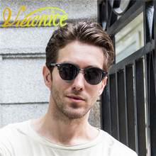 Viewnice Sunglass Women Polarized UV400 Sunglasses Men oculos masculino Wood Grain Pink 4246 oculos de sol Laser name Customized