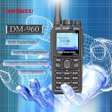 10pcs Dual Mode TDMA digital/Analog DMR Radio Anysecu DM-960 VHF 3000mAh Compatible with MOTOTRBO better than TYT MD380/390/398(China)