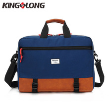 Kingslong Multi-function Briefcases 15.6 Inch Laptop Handbag Men's Business Crossbody Bag Messenger/Shoulder Bags for Men(China)