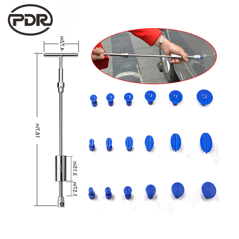 PDR Tools Slide Hammer Dent Puller Dent Removal Paintless Dent Repair Tools Hail Damge Repair Tools Hand Tools Kit Ferramentas<br>