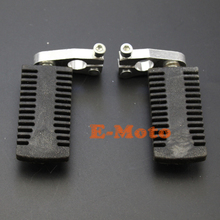 Foot Pegs Rest Footrest Footpeg For 43cc 47cc 49cc Mini Pocket Rocket Chopper PIT Pro Dirt Bike Mini Kids New E-Moto(China)