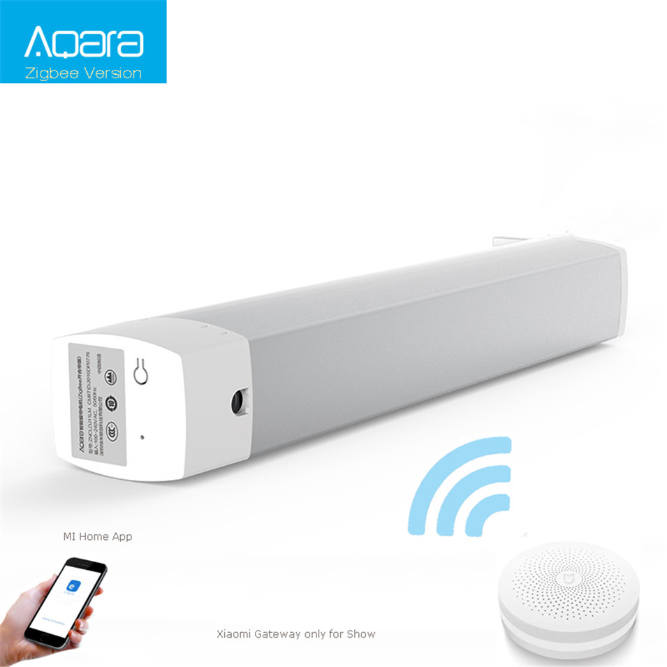 Original Xiaomi Aqara Curtain Motor,Zigbee Silent Motor,2.4GHz WIFI Wireless Control,Work with XiaomiMijia Gateway,Mi Home App