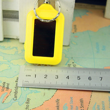 1 Pc Hot Sell Mini Explosion LED Flashlight The Solar Key Chain Flashlight with Little Light