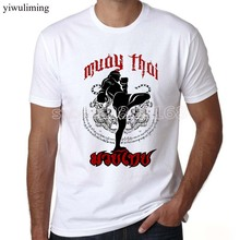 yiwuliming Evolution muay thai t shirts Ultimate Fighting Muay Thai hardcore Fight T Shirt Fun Funny Top Tees
