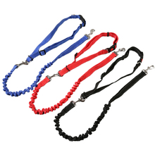 Pet Dog Traction Rope Slip Lead Training Elastic Dog Collar Belt Adjustable Dog Walk Running Leash Lead for Pet Dogs