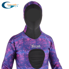 semi-dry 3.5mm Neoprene scuba Diving wetSuit  / surfing suit with hood
