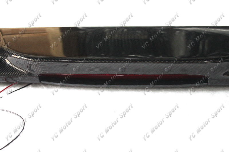 1993-2001 Subaru Impreza WRX STI GC8 Rear Spoiler CF with Brake Light (11)