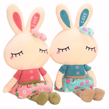 New rabbit plush toys kids toys kawaii doll gift 46cm bunny stuffed animal lamy rabbit brinquedos juguetes hot sale
