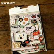 KSCRAFT RingRing Phones Die Cut Self-adhesive Stickers for Scrapbooking Happy Planner/Card Making/Journaling Project(China)