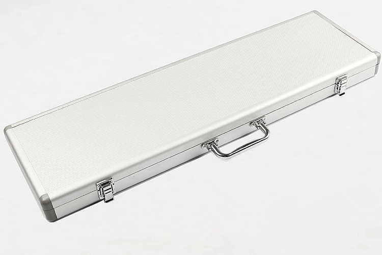 High quality aluminum alloy flute case material high-grade luxury dizi box can hold 5 pieces flauta  free shipping<br><br>Aliexpress