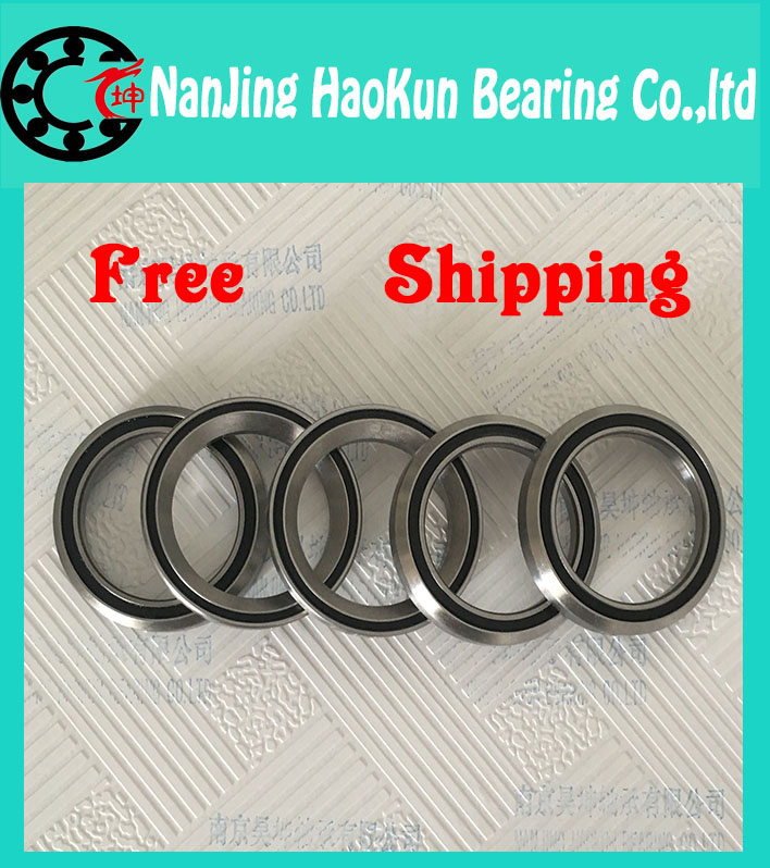 Free Shipping High speed Low Noise 1-3/8 Bicycle headset bearing MH-P21S(49*7, 45/45, stainless steel) Bicycle Special<br><br>Aliexpress