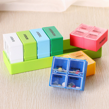 Hot Sale 28 Grids 7 Days Weekly Portable Plastic Tablet Medicine Box Holder Storage Organizer Container Case Pill Box(China)