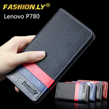 Buy Lenovo P780 Flip Leather Mobile Phone Cover Case Lenovo P780 Original Brand Wallet Holster Phone Back Cover Bag for $3.78 in AliExpress store