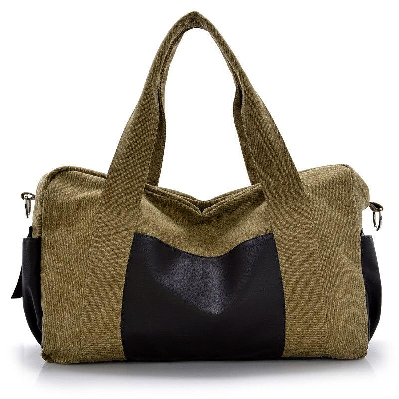 2017 Men And Women Large Capacity Portable Canvas Travel Bag Men Messenger Bag Brand Mens Bag Vintage Style Handbag YS1157<br><br>Aliexpress