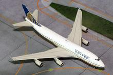 GJUAL1368* GeminiJets United Airlines N178UA 1:400 B747-400 commercial jetliners plane model hobby