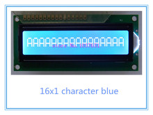 LCD 1601 16x1 161 1601A lcd display module blue Compatibel SPLC780D HD44780 WH1601A AC161A SCS01601C0(China)