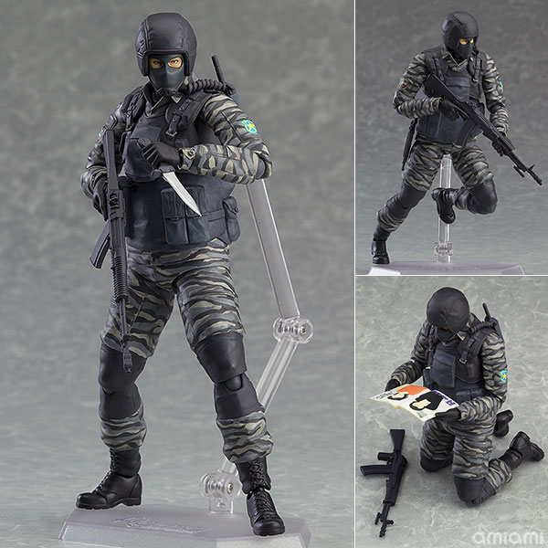 METAL GEAR SOLID 2: SONS OF LIBERTY Figma 298 Gurlukovich PVC Action Figure Collectible Model Toy 16cm KT3130<br><br>Aliexpress