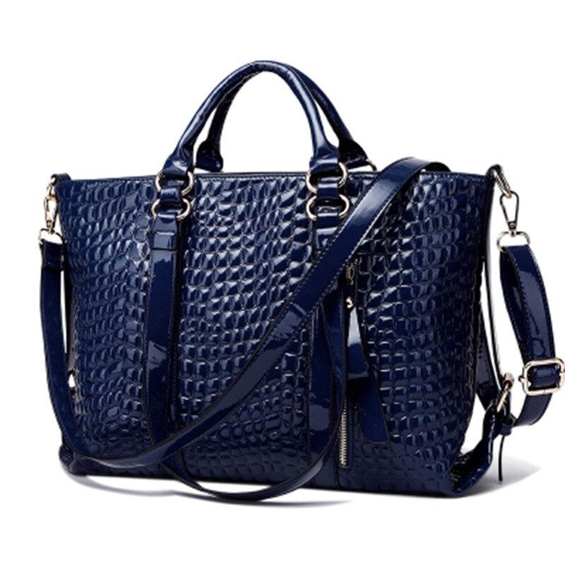 Famous Designer Brand Bags Women Leather Handbags 2017 Luxury Ladies Hand Bags Purse Fashion Shoulder Bags Bolsa Sac Crocodile<br>