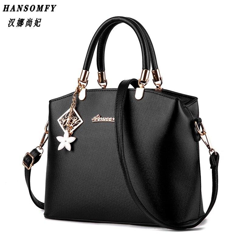 Han 100% Genuine leather Women Handbag 2017 New Tide Handbags big bursts of temperament fashion Messenger bag shoulder bag<br>