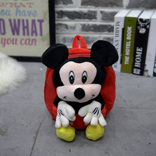 Hot sale new Girl /boy cartoon red blue cute loveoly Mickey mouse Minne backpack  kindergarten kids school bag sack pack