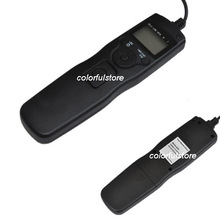 FREE SHIP! Timer Remote Control Shutter Release C1 for Canon G12 G11 G10 30 33 50E 300V 3000 Pentax K200D K1100D K100D K20D K10D(China)