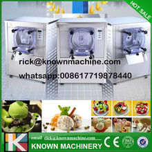 2017 KN-112L soft commerical hard ice cream maker/making machine price with CE certified free shipping by sea