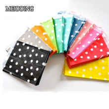 MEIDDING-25pcs/lot Polka Dot  paper bag cookies cupcake bag package bag gif bag baby shower birthday wedding party supplies