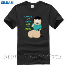 Randy Marsh Huge B South Park Male T Shirt 2017 Fashion Customized Loose Tops Men Summer O Neck Tee Teenboys Simple Tee Shirt(China)