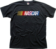 nascar auto las vegas 2012 BLACK printed cotton t-shirt  0364 men's top tees