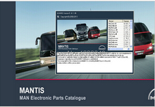 MAN Mantis v547 2016.10 + Crack NEW Spare parts catalog for MAN Trucks Buses and Engines