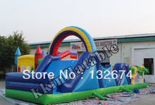 Best Selling Boot Camp Challenge Inflatable Obstacle Course Race