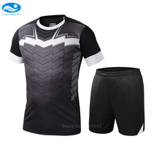 College soccer uniforms DIY soccer jerseys 2017 survetement football 2016 maillot de foot training football set suit For Men