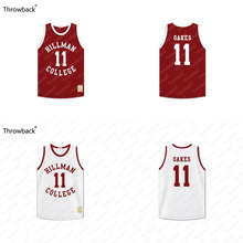 Sinbad Coach Walter Oakes #11 Hillman College Maroon A Different World Throwback Movie Basketball Jersey Stitched S-4XL(China)