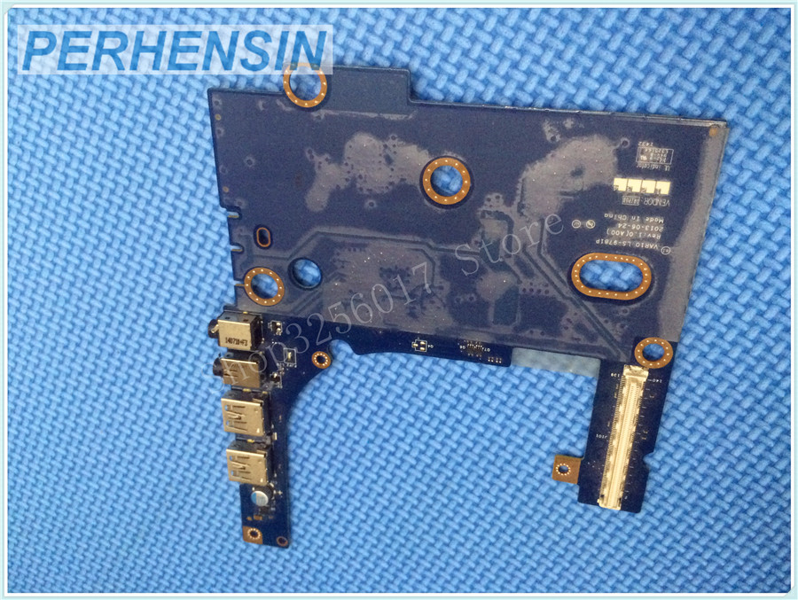 FOR DELL  FOR Precision M6800 USB Audio Card Reader Input Output IO BOARD LS-9781P 1PN90 01PN90 VAR10<br>