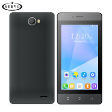 "Original Phone SERVO H2 4.5"" mobile phone Spreadtrum7731C Quad Core Android 6.0 OS Dual Sim 4GB ROM 5.0MP GSM WCDMA cellphones"