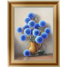 5D Flowers Diamond Embroidery Painting Cross Stitch Art Craft Home Decor DIY 30*40cm-Y102(China)