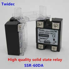 High quality Single Phase Solid State Relay SSR 60DA Module 3 32V DC To 24 480V_220x220 compare prices on phase relay online shopping buy low price phase Solid State Relay Schematic at soozxer.org