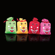 1 PC Hot Sale Fashion Cute Creative Color Random Children happy Music Laugh Bag Pinch Funny Laughter Bag Random send